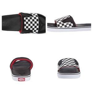Vans Checkered UltraCush Slides Mens Sandals